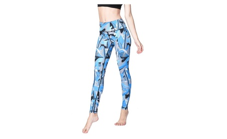 Performance Activewear - Printed Yoga Capri 3e634617-ea8d-48c6-9498-83e45249424f