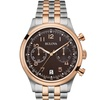 Bulova 98B248 Men's Chronograph Stainless Watch in Silver & Rose Gold