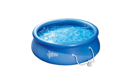 """Summer Escapes 10' x 30"""" Quick Set Round Above Ground Swimming Pool dbff142d-75db-4b1c-89c1-86a1f00664e4"""