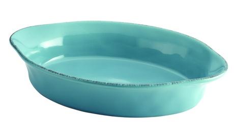 Rachael Ray Cucina Stoneware 2-Quart Oval Baker 12259546-bcf6-4aa5-9553-a77f91d72678