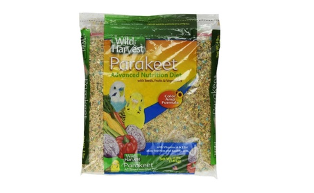 Wild Harvest Parakeet Advanced Nutrition Diet, 4-Pound Bag