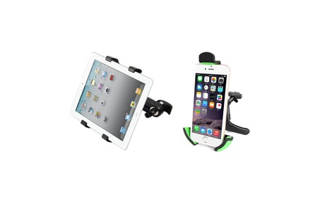 Universal air vent mount for smartphones & headrest mount for tablets 02da9bf5-9580-45f5-8dbb-7c0f93581e7c