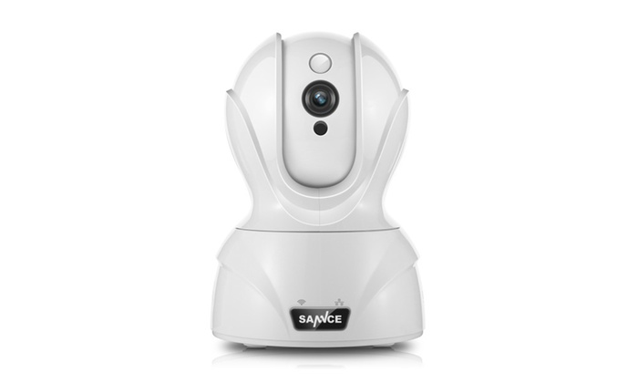 SANNCE Wifi IP Camera HD 720P Wireless Baby Monitor Mobile Remote Cam