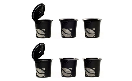 Handy Gourmet 6 Pcs Reusable Refillable Coffee Espresso Tea Pods K Cup 24bf6cec-20e9-4dc5-ae57-ce7da098ae00