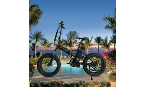 GoPowerBike Foldable 500W Electric Bike with Removable Battery