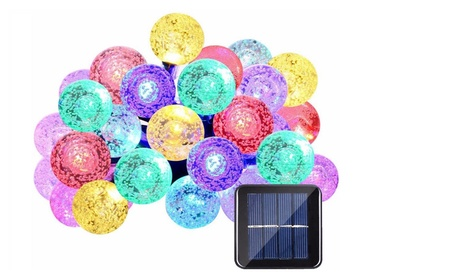 Solar Power Lamp Globe Light For Garden Party Home Decoration 658343d5-429f-46ac-b9eb-0a50b2d56f8b