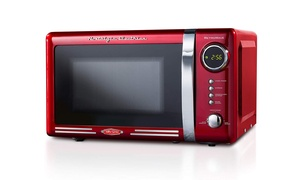 Nostalgia RMO770RED Retro 700-Watt Countertop Microwave Oven