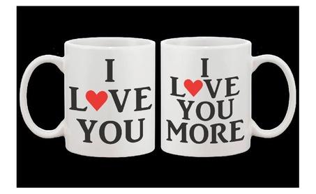 I Love You Couple Matching Mug -his And Hers Matching Mug Cup ec462a20-7ee1-4b02-8950-b801f5f85e59