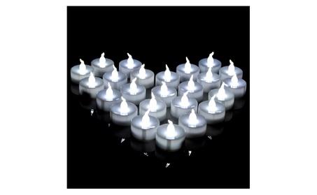 AGPtek LED Tealight Candles Battery Operated Flameless smokeless 60PCS 97263114-6ace-415d-9a99-df29bd42b578