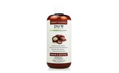 PURE Organic Moroccan Argan Oil Shampoo, 26.5 oz ea6d6705-580f-4c6d-be5c-79ae9d534ea9