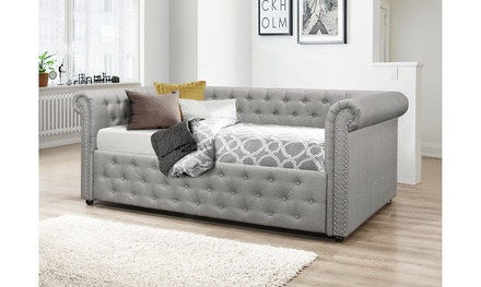Ashley Fabric Full Size or Queen Size Upholstered Daybed