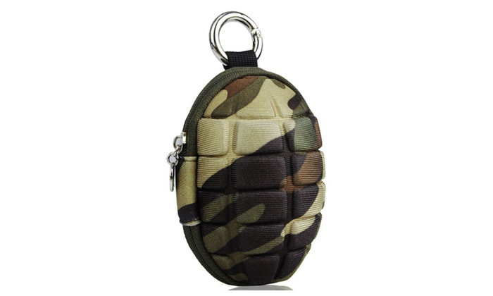 Oncefirst: Women's Grenade Car Key Case Wallet