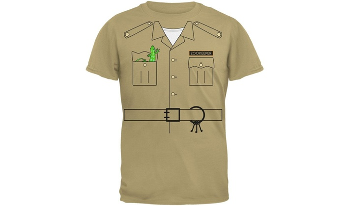 Old Glory Halloween Zookeeper Costume Mens T Shirt