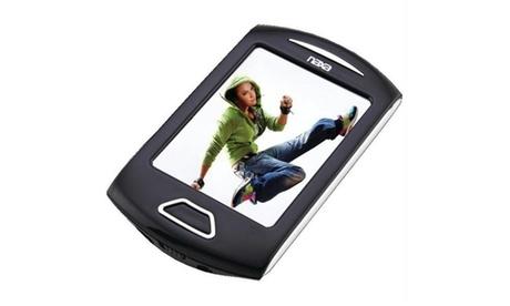 Naxa NMV179SL 4gb 2.8 in. Touchscreen Portable Media Player -silver