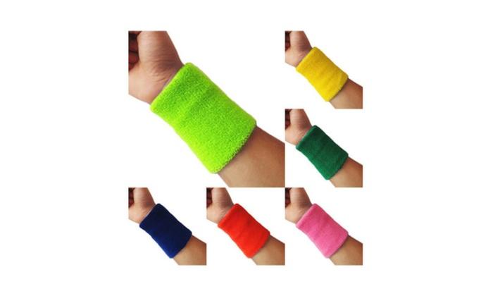New Wrist Sweatband Tennis Squash Badminton Basketball