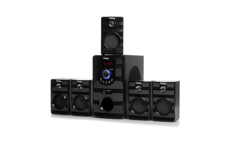 5.1 CH Home Theater Speaker System w/ Bluetooth Streaming, Usb, Sd New ac537355-c01a-491e-a970-4882caa8cfc9