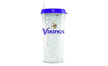 Minnesota Vikings Crystal Freezer Tumbler photo