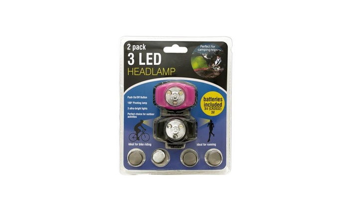 3 Led Headlamp Set