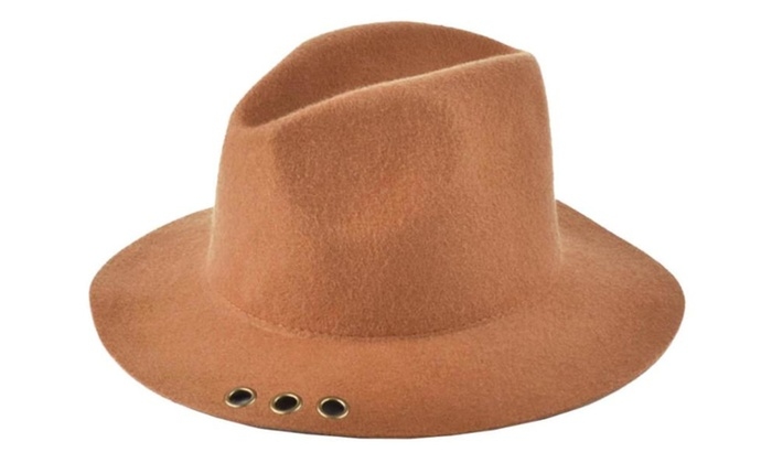 Women's Adjustable Cuff Single Layer Stylish Round Top Hat