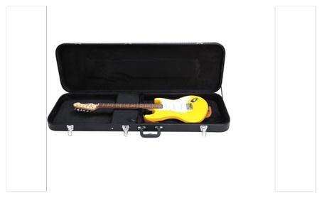 Bass Guitar Hard Case Fits Most Standard Electric Bass Guitars Black d371b37c-2516-4314-addd-b1895a66c4d5