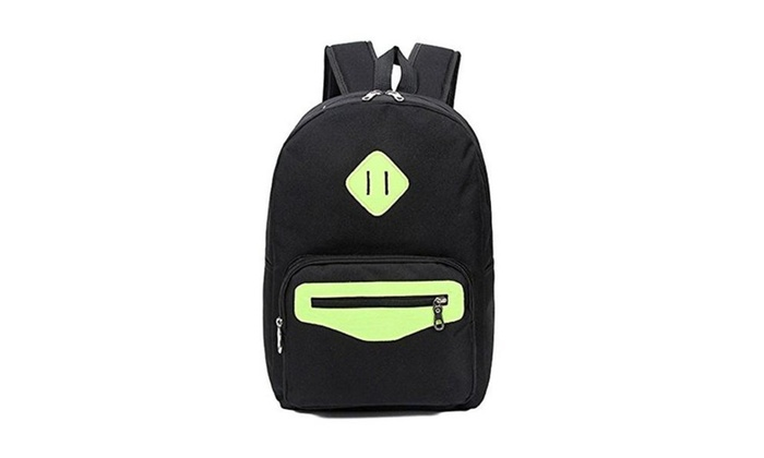 Mvlau Canvas Backpacks for Girls Middle School Womens Bookbags Back Packs