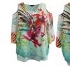 Women's Plus-Size Cold Shoulder Chiffon Fashion T-Shirt Blouse Tee