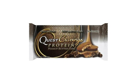 Quest Nutrition - Cravings Bars Peanut Butter Cup ( 12 - 1.76 OZ) 9f6f7daa-a0ac-4721-a497-3d607be4e031