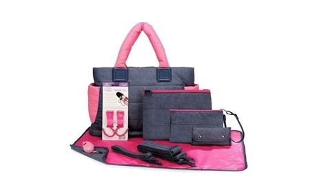 CiPU ECO Baby Diaper Bag Tote 9 Pieces Set (CT-Bag 2.0) 65395f6a-4340-4532-9b94-5dde8ca50008