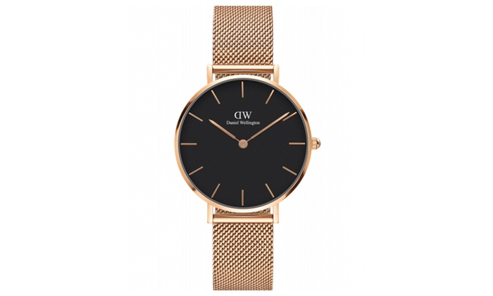 dw watches rose gold classic petite melrose for women 32mm groupon. Black Bedroom Furniture Sets. Home Design Ideas
