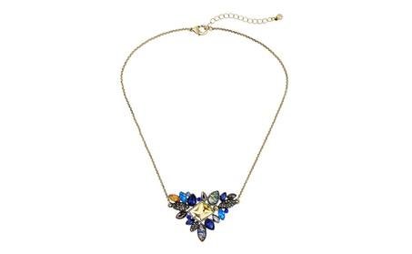 Exquisite Rhinestone Thin Chain Collar Women's Necklace 6497d9ec-ce9f-406a-9cae-928516196e26