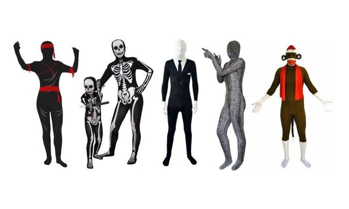 SecondSkin Full Body Spandex/Lycra Suit Halloween Costume