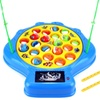 Deep Sea Shell Fishing Game Toy Fishing Game (Blue)
