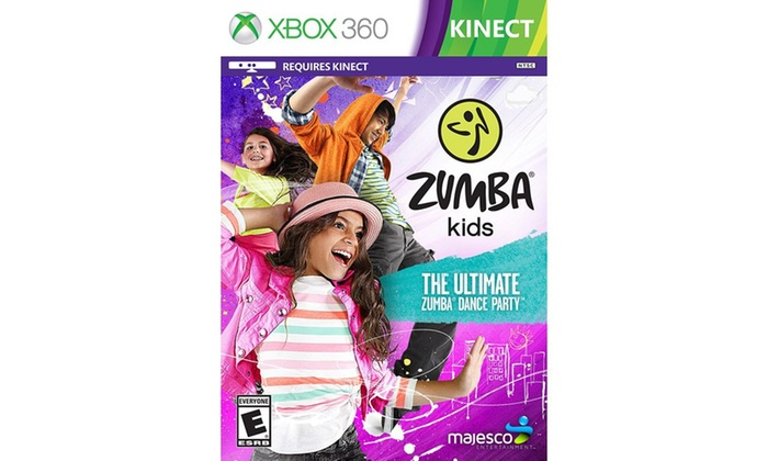 Zumba Fitness Xbox 360 Kinect Games, CDs, and Accessories