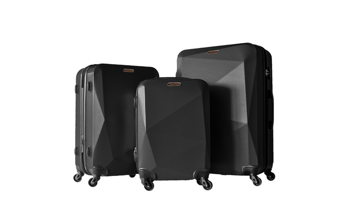 Hybrid Travel Ringsted 3 Piece Luggage Set