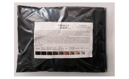 Hair building fibers 57g (2 ounce) refill bag of hair loss concealer ef895551-90ee-4155-a60f-cb84092d6f91