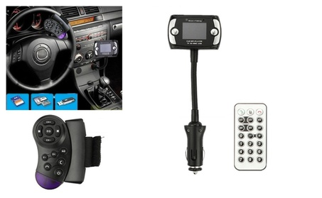 Car Kit Handsfree Wireless Bluetooth FM Transmitter MP3 Player Remote ea00147e-2578-4526-8069-ca0fa6a6ec80