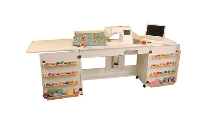 Arorw Sewing Cabinet Bertha Sewing Machine Airlift With Sewing Kit Magnificent Bertha Sewing Machine Cabinet