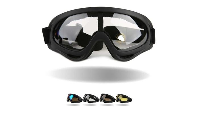 Windproof Snowboard Goggles  - Transparent