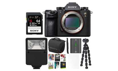 Shop Groupon Sony A9 Full Frame Mirrorless Camera Body W Accessory Bundle