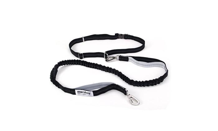 Energy USA: Hands-Free Convertible Dog Walking Waist Belt and Leash