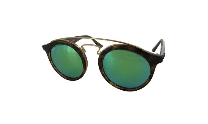 de79c9bc3c5 Ray Ban Mens RB4256 Gatsby I Round Designer Sunglasses