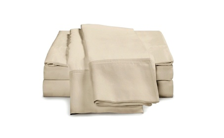 Thin and Soft Ivory King 1200 Series 4 Piece Bedspread and coverlets 0d5d760d-7409-4573-813c-f94cbe3d215c