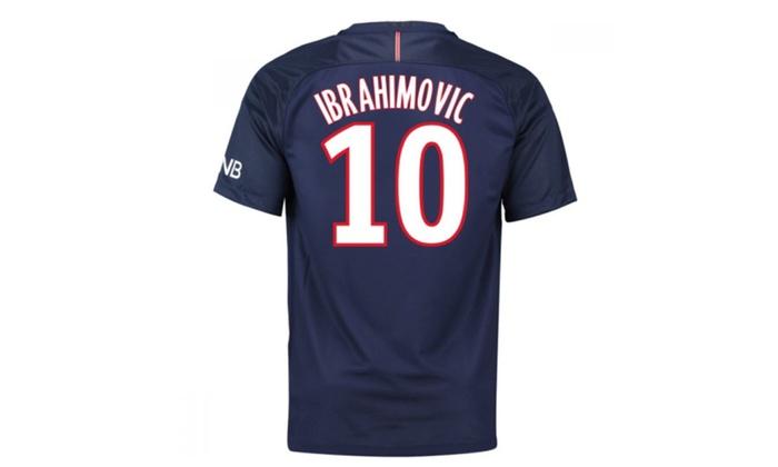 hot sale online 8f81d e545f 2016-2017 Psg Home Shirt Kids Ibrahimovic 10
