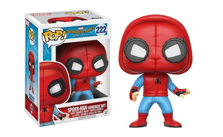 Funko Pop Spider-Man Homecoming Prototype Spider man Homemade Suit 11559b12-7976-42a2-94dc-7d762145526e