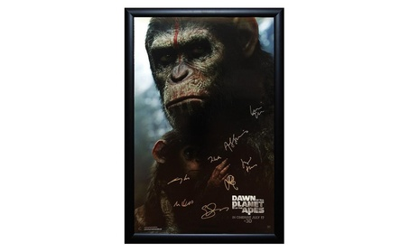 Dawn of the Planet of the Apes - Signed Movie Poster in Wood Frame 3c55d01c-20c3-4721-ba4e-d1bf9315a599