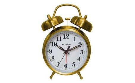 Westclox 5691381 70010G Big Ben Bell Gold Quartz Alarm e4f1463f-7ed2-4f7c-9997-f855edf4e790