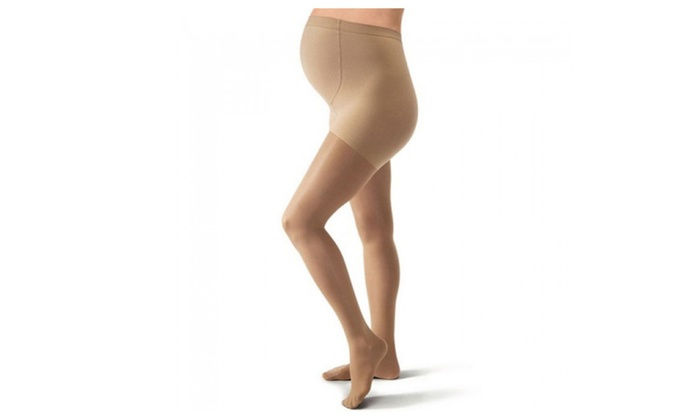 8494bc131a Jobst Ultrasheer 20-30 mmHg Compression Maternity Pantyhose | Groupon