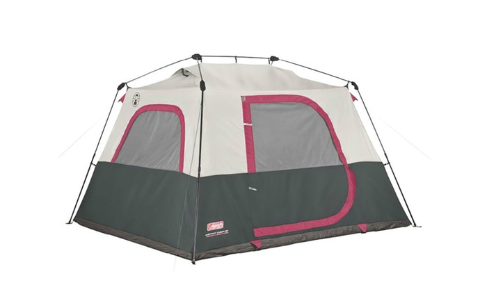 Coleman 6-Person Family C&ing Instant Cabin Tent  sc 1 st  Groupon & Coleman 6-Person Family Camping Instant Cabin Tent | Groupon