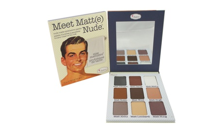 the Balm Meet Matte Nude Eyeshadow Palette Eyeshadow