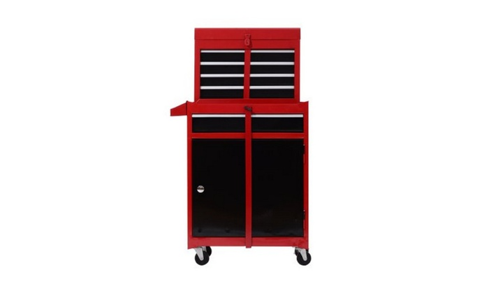 Rolling Toolbox And Cabinet Chest